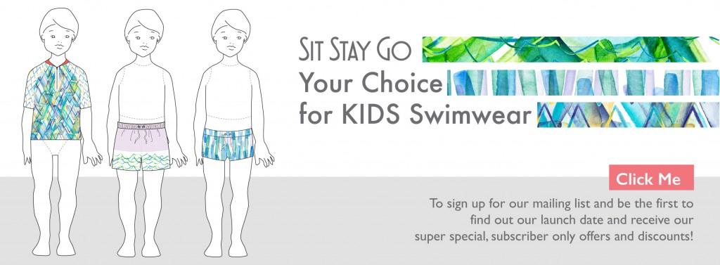 Sit Stay Go Kids Swimwear home page
