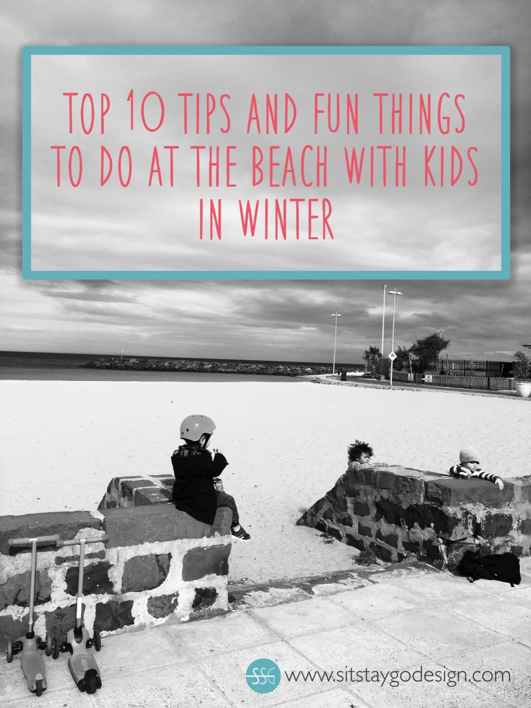 fun things beach kids winter