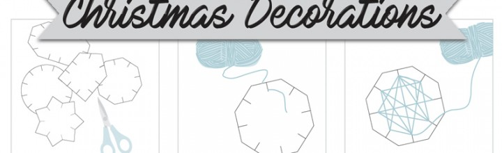 Handmade Christmas Decorations – kids activity